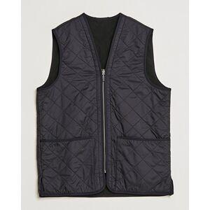 Barbour Lifestyle Quilt Waistcoat/Zip-In Liner Black