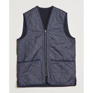 Barbour Lifestyle Quilt Waistcoat/Zip-In Liner Navy