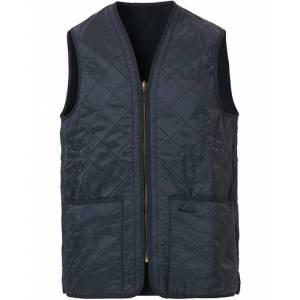Barbour Lifestyle Quilt Waistcoat / Zip-In Liner Navy