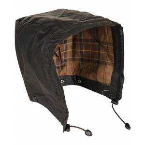 Barbour Lifestyle Waxed Cotton Hood Rustic