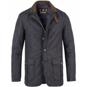 Barbour Lifestyle Quilted Lutz Jacket Navy