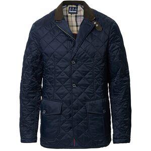 Barbour Lifestyle Dress Tartan Quilted Sander Jacket Navy