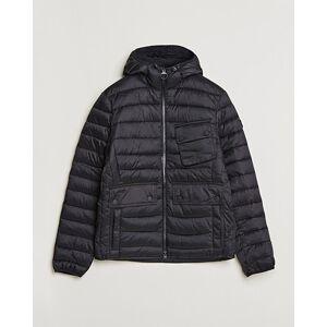 Barbour International Ouston Hooded Quilt Jacket Black