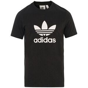 adidas Originals Trefoil Logo Crew Neck Tee Black