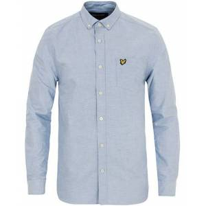 Scott Lyle & Scott Oxford Shirt Riviera Blue
