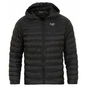 Arc'teryx Cerium LT Quilted Shell Hooded Down Jacket Black