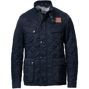 Barbour International Steve McQueen Jeffries Quilted Jacket Navy