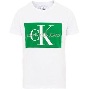 Calvin Klein Jeans Monogram Box Logo Tee White