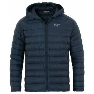 Arc'Teryx Cerium LT Quilted Shell Hooded Down Jacket Nocturne