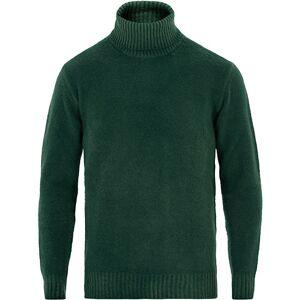 Altea Brushed Wool Turtleneck Sweater Green