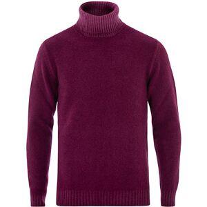Altea Brushed Wool Turtleneck Sweater Burgundy