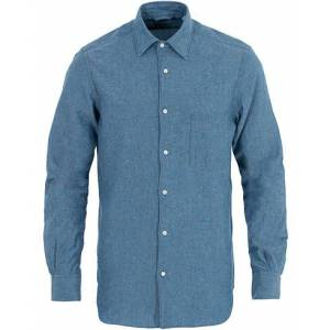 Aspesi Chambray Pocket Shirt Blue