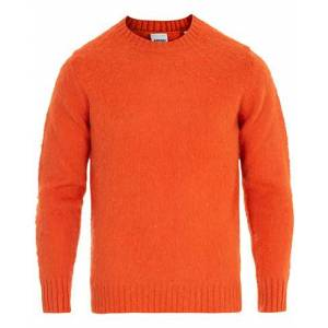 Aspesi Shetland Crew Neck Sweater Orange