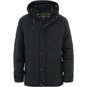 Barbour Lifestyle Beeston Quilted Hooded Jacket Black