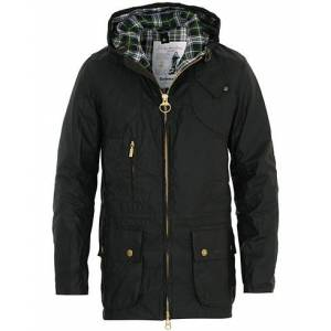 Barbour Lifestyle 125 Re-Engineered Durham Wax Jacket Sage