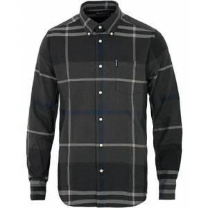 Barbour Lifestyle Dunoon Flannel Check Shirt Graphite