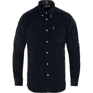 Barbour Lifestyle Corduroy Shirt Navy