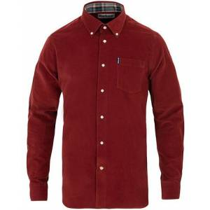 Barbour Lifestyle Corduroy Shirt Rost Red