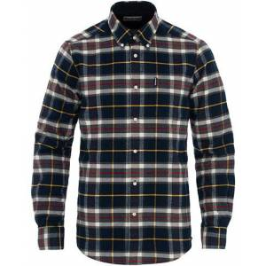 Barbour Lifestyle Highland Flannel Check Shirt Navy