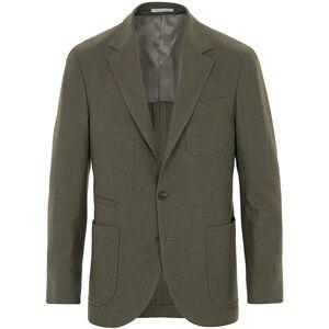 Brunello Cucinelli Cashmere Blend Patch Pocket Blazer Green