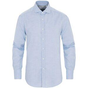 Brunello Cucinelli Soft Flannel Sport Shirt Light Blue