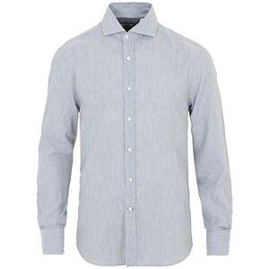Brunello Cucinelli Soft Flannel Sport Shirt Light Grey