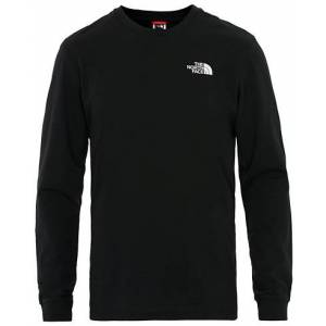 The North Face Simple Dome Long Sleeve Tee TNF Black