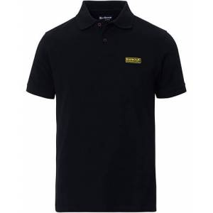 Barbour International Essential Polo Black
