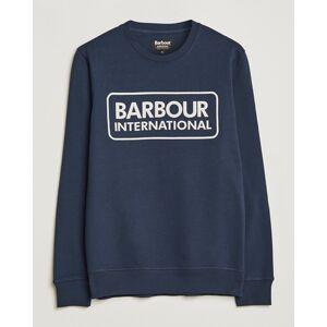 Barbour International Large Logo Sweatshirt Navy