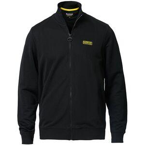 Barbour International Full Zip Track Sweater Black