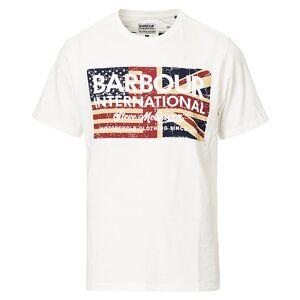 Barbour International Steve McQueen Vintage Flag Tee White