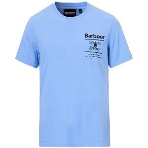 Barbour Lifestyle Chanonry Crew Neck Tee Colorado Blue