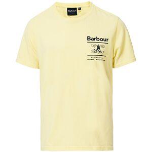 Barbour Lifestyle Chanonry Crew Neck Tee Lemon