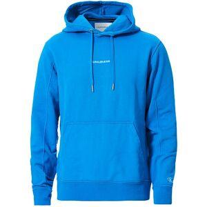 Calvin Klein Jeans Instit Chest Logo Hoodie Coastal Blue