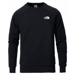 The North Face Raglan Redbox Crew Neck Sweatshirt Black
