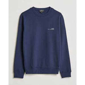 A.P.C. Item Crew Neck Sweatshirt Navy