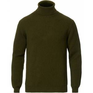 altea Rib Stitch Turtleneck Military