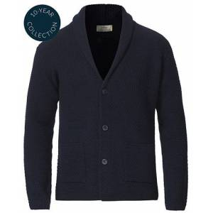altea Shawl Collar Cardigan Navy