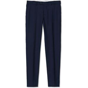 Brunello Cucinelli Slim Fit Super 120s Flannel Trousers Navy