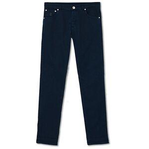 Brunello Cucinelli Skinny Fit 5-Pocket Twill Pants Navy