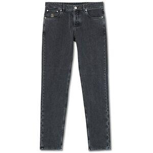 Brunello Cucinelli Traditional Fit 5-Pocket Jeans Medium Grey