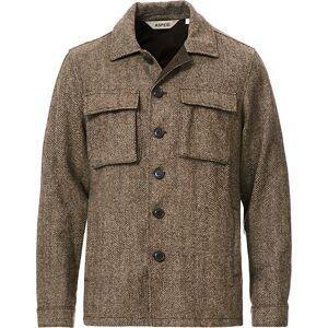 Aspesi Tigre Tweed Jacket Grey Herringbone