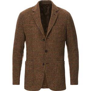 Aspesi Murakami Tweed Blazer Brown Check
