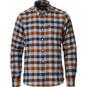 Barbour Lifestyle Country Check Flannel Shirt Copper