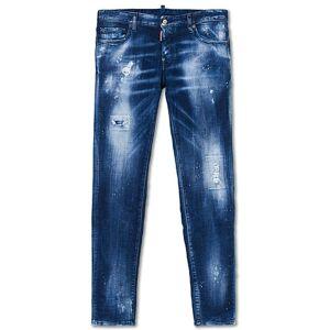 Dsquared2 Slim Jeans Medium Orange Country Wash