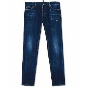 Dsquared2 Slim Jeans Dark Deep Blue Wash