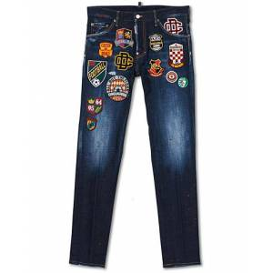 Dsquared2 Cool Guy Jeans College Patch Wash