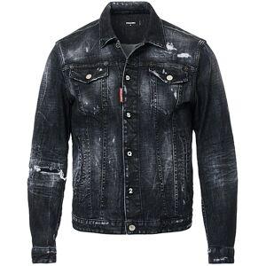 Dsquared2 Dan Dean Denim Jacket Washed Black