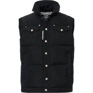 Dsquared2 Down Vest Black
