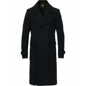 Belstaff New Milford Coat Black